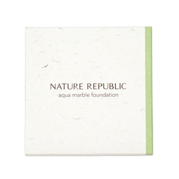 Nature Republic Nature Origin Aqua Marble Foundation review