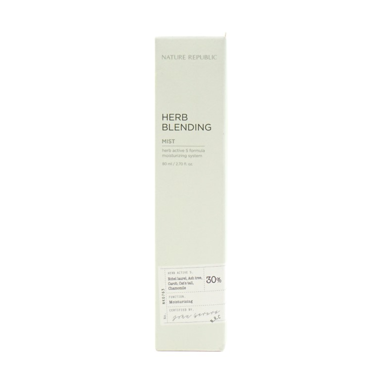 NATURE REPUBLIC Herb Blending Mist review