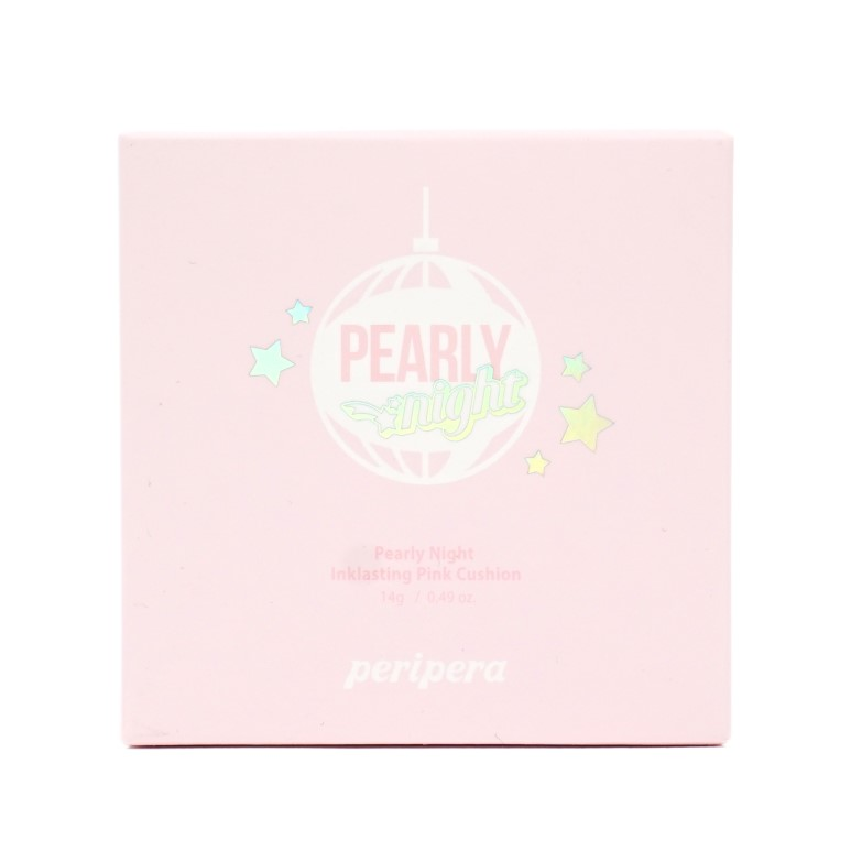 peripera Pearly Night Inklasting Pink Cushion Holiday Edition review