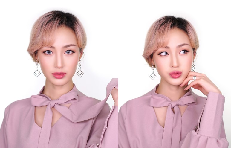 Hope Girl One Brand Pink Holiday Makeup Tutorial