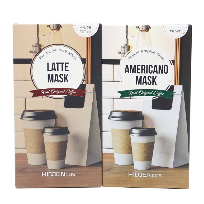 HIDDENCOS Americano Mask & Latte Mask review