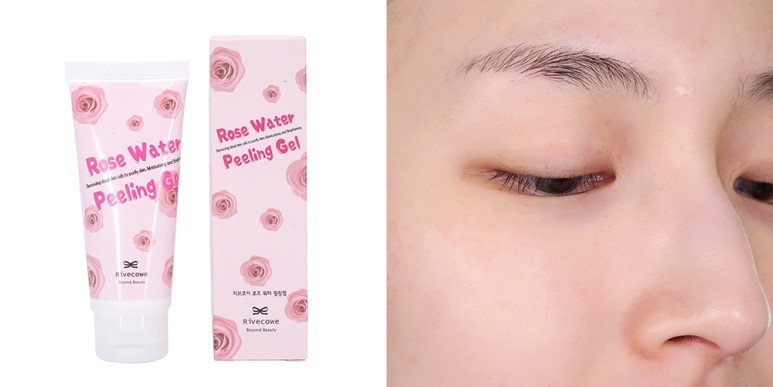 Rivecowe Rose Water Peeling Gel review