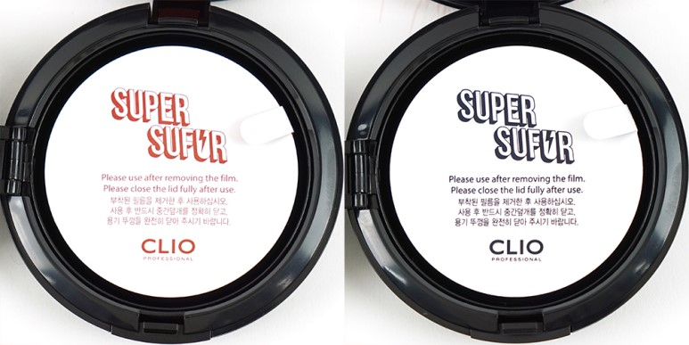 CLIO Super Sufur Kill Cover Conceal Cushion Holiday Limited Edition review