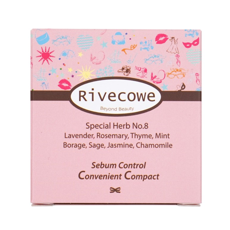 Rivecowe Sebum Control Convenient Compact review