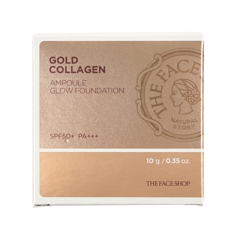 The FACE Shop Gold Collagen Ampoule Glow Foundation review