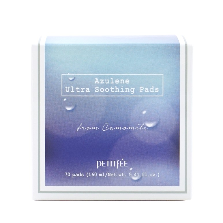 PETITFEE Azulene Ultra Soothing Pads review