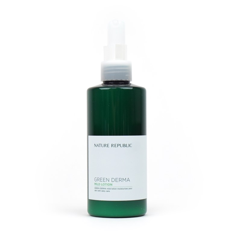 Nature Republic Green Derma Lotion Review