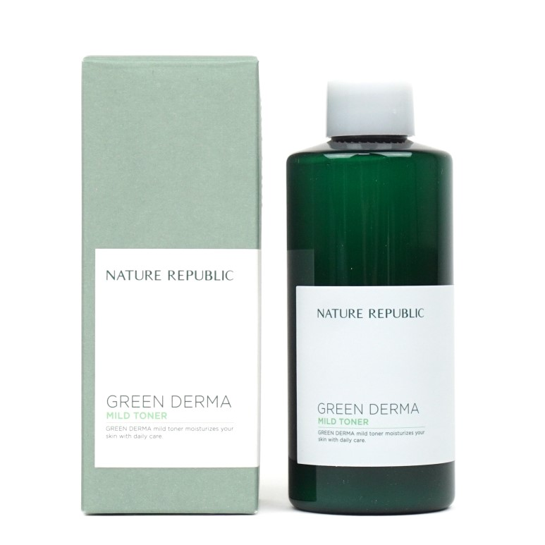 Nature Republic Green Derma Mild Toner Review