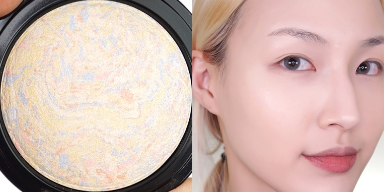 TONMOLY Luminous Marble Highlighter review