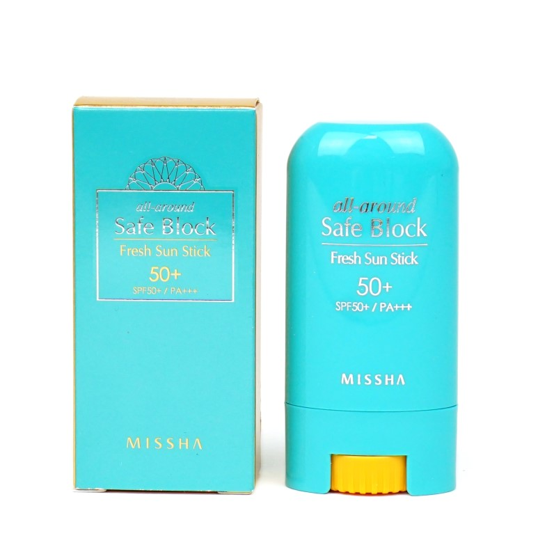 MISSHA all-around Safe Block Fresh Sun Stick SPF50+ / PA+++ review