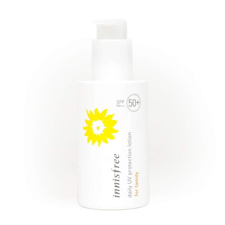 innisfree Daily UV Protection Lotion for Family Review