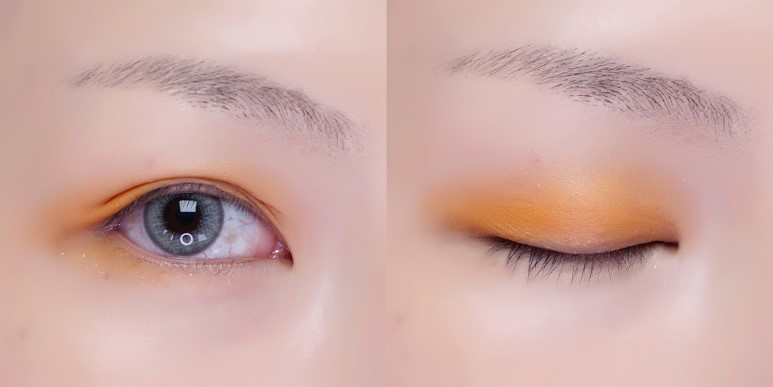 TONYMOLY Perfect Eyes Mood Eye Palette Review