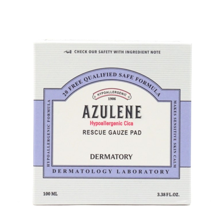 DERMATORY Hypoallergenic Cica Rescue Gauze Pad Review