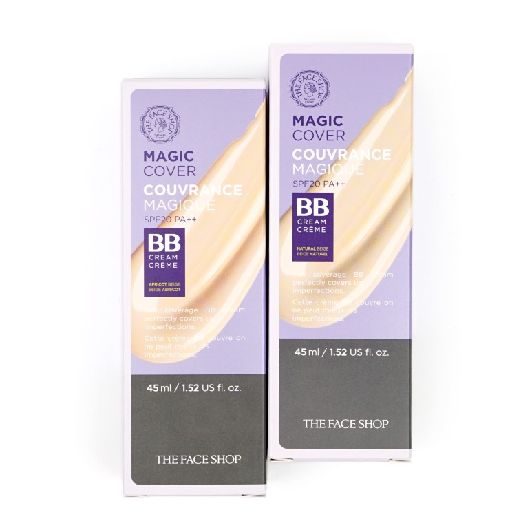 THE FACE SHOP Magic Cover BB Review