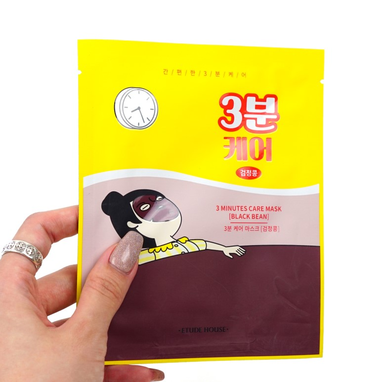 ETUDE HOUSE Drawing 3 Minutes Care Pack Mask Sheets Review
