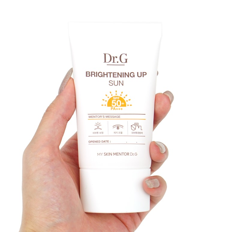 Dr.G Brightening Up Sun Review