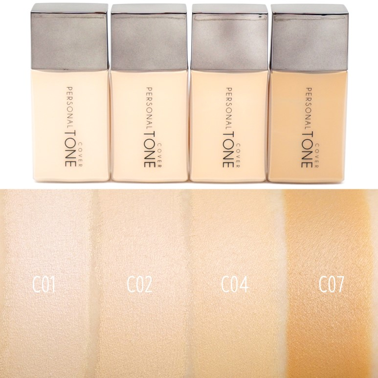A'PIEU Personal Tone Foundation Cover Review