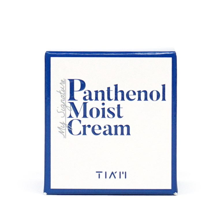 TIAM My Signature Panthenol Moist Cream Review