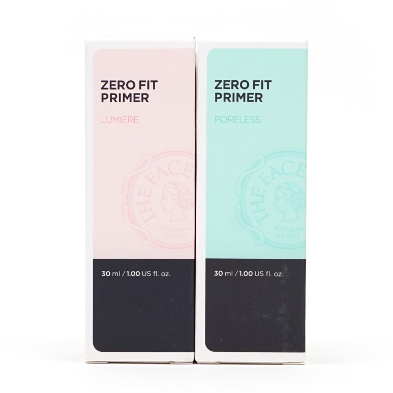 THE FACE SHOP Zero Fit Primer Poreless Review