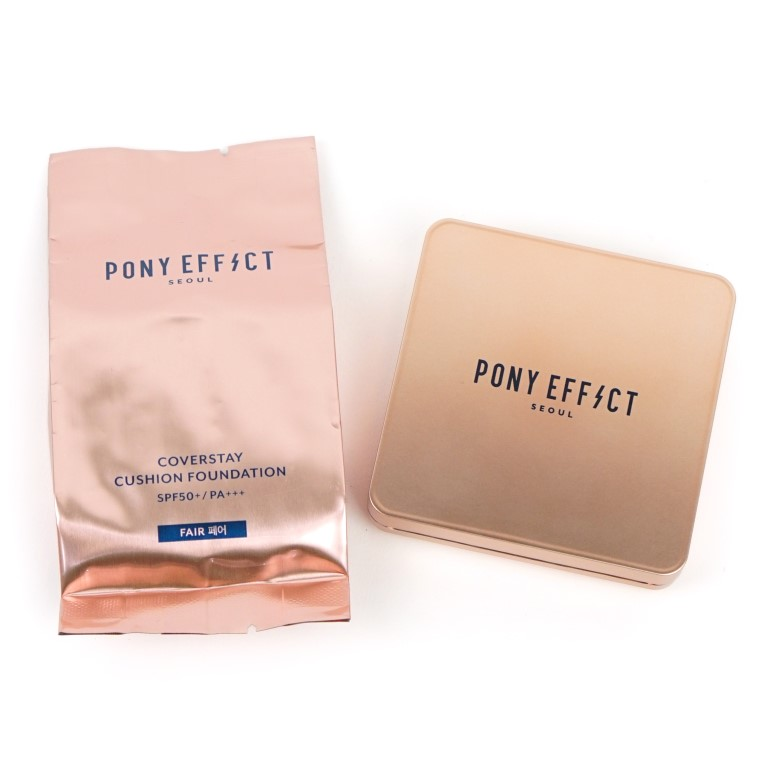 PONY EFFECT Coverstay Cushion Foundation Review