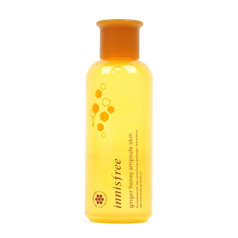 innisfree Ginger Honey Ampoule Skin Review
