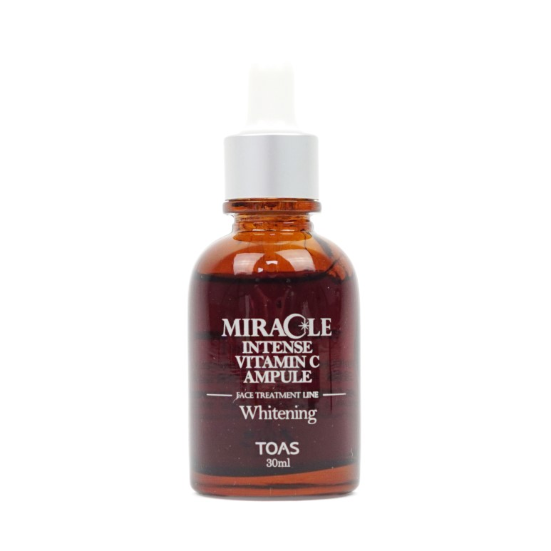 TOAS Miracle Intense Vitamin C Ampule 30ml Review