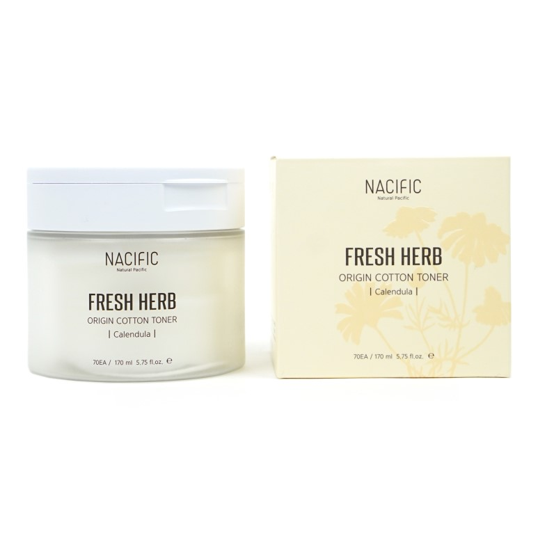 NACIFIC Fresh Herb Origin Cotton Toner review