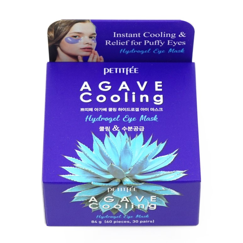 Petitfee Agave Cooling Hydrogel Eye Mask review