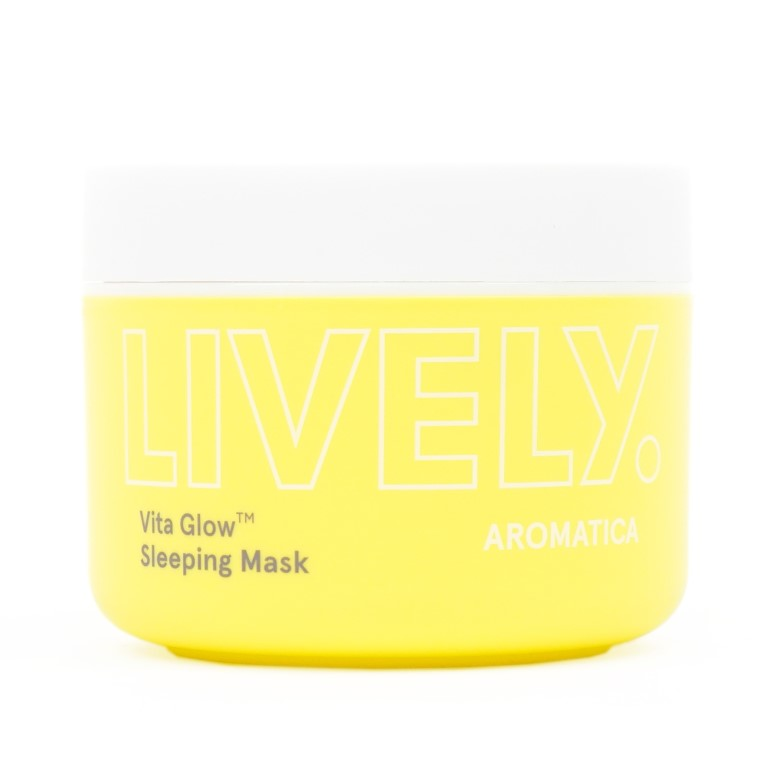 AROMATICA Lively Vita Glow Sleeping Mask review