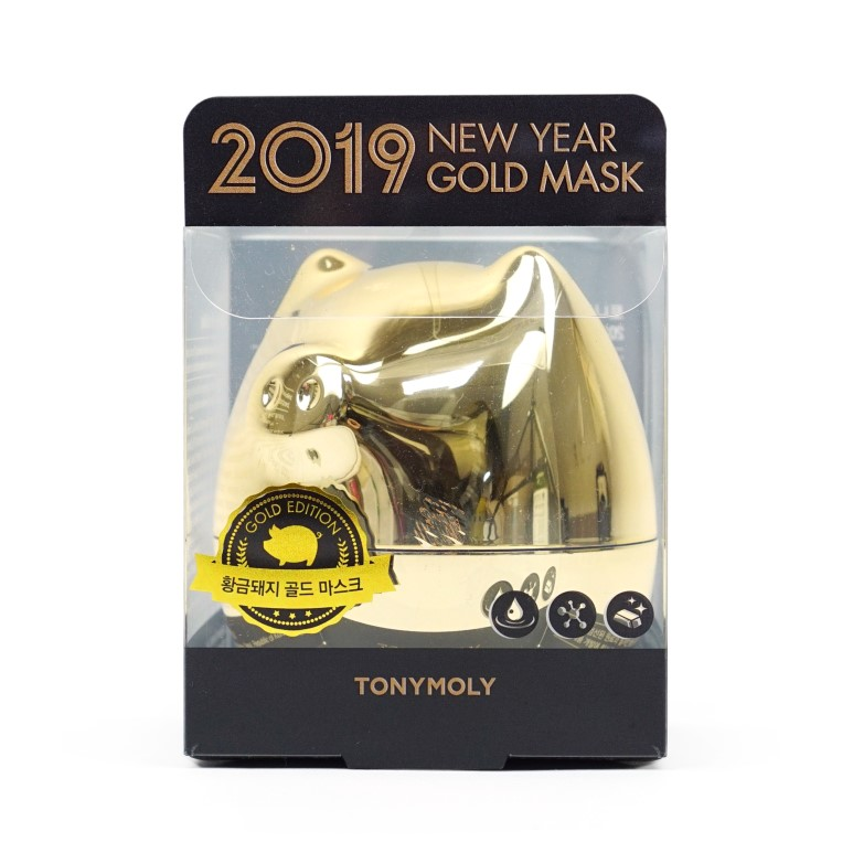 TONYMOLY 2019 New Year Gold Mask review