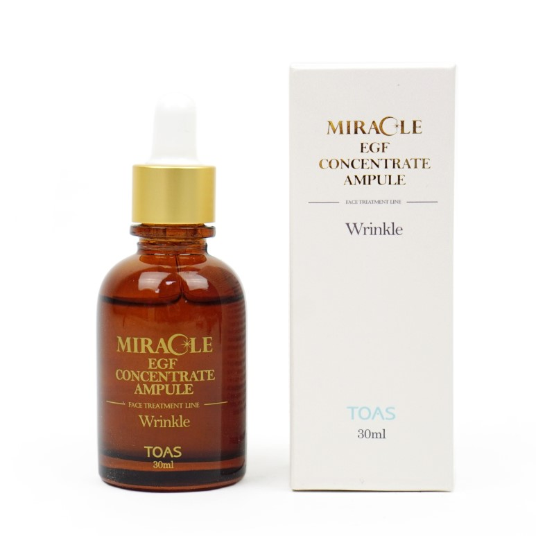 TOAS Miracle EGF Concentrate Ampule review