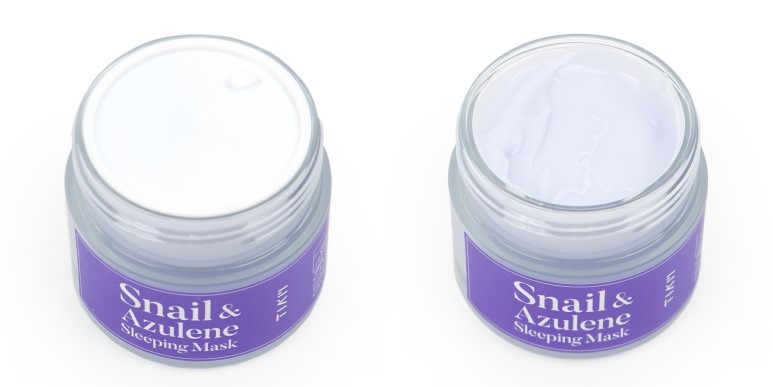TIAM Snail & Azulene Sleeping Mask review
