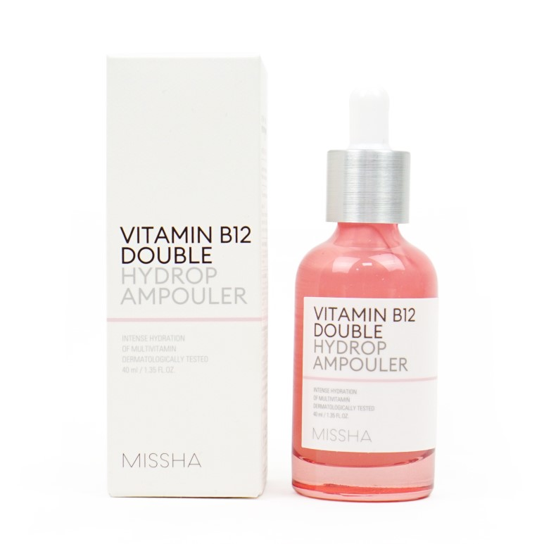 MISSHA Vitamin B12 Double Hydrop Ampouler review