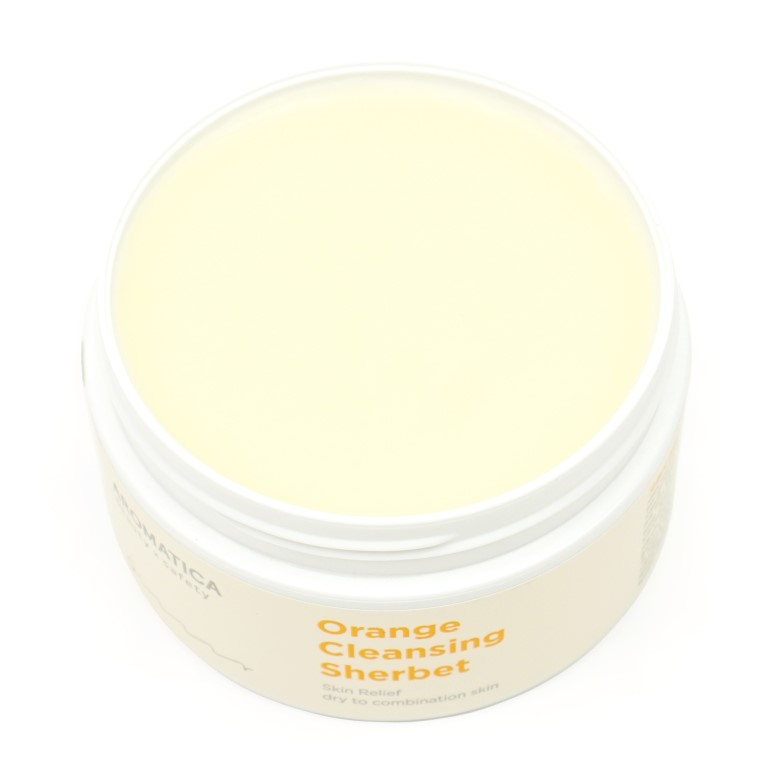 Aromatica Orange Cleansing Sherbet review