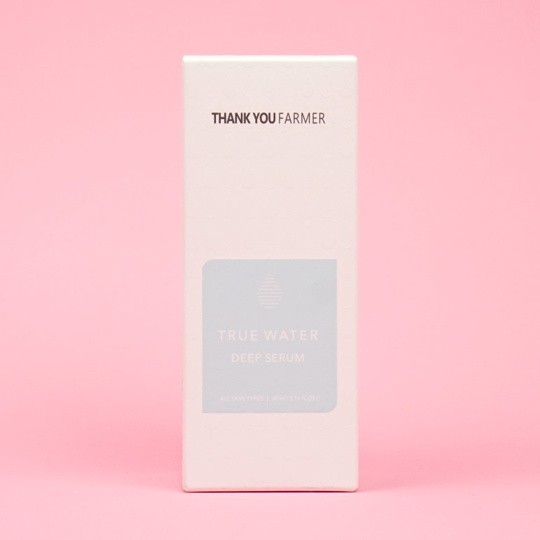 THANK YOU FARMER True Water Deep Serum review