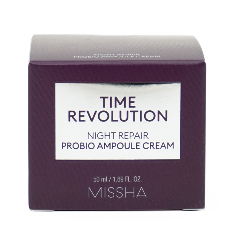 MISSHA Time Revolution Night Repair Probio Ampoule Cream review