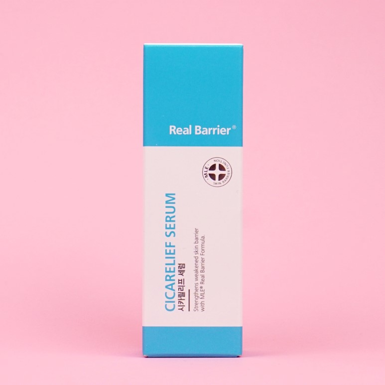 Real Barrier Cicarelief Serum review