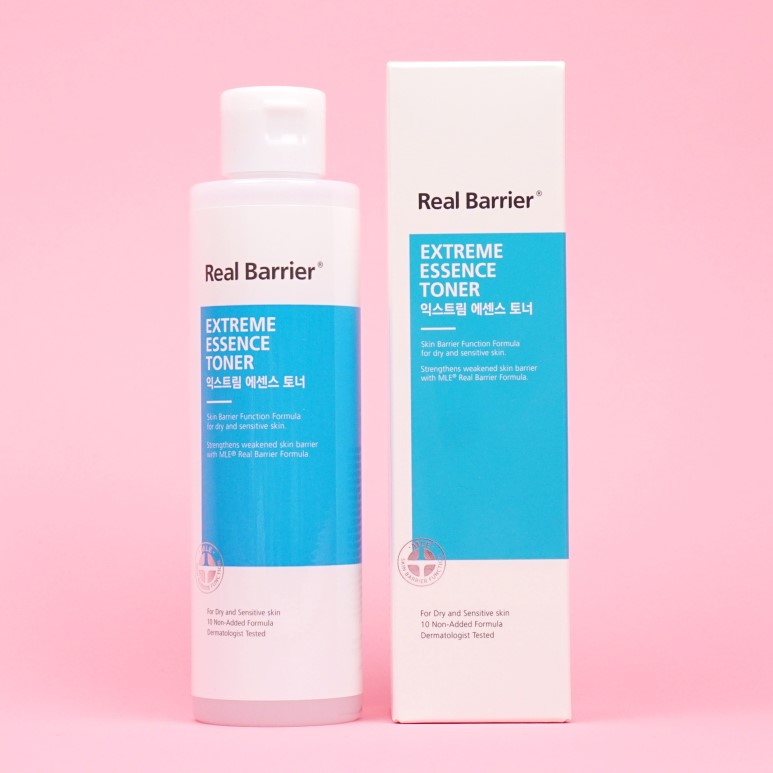 Real Barrier Extreme Essence Toner review