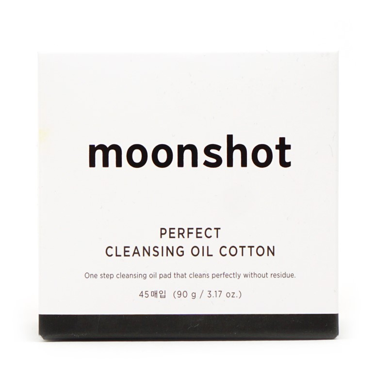 moonshot Perfect Cleansing Oil Cotton review