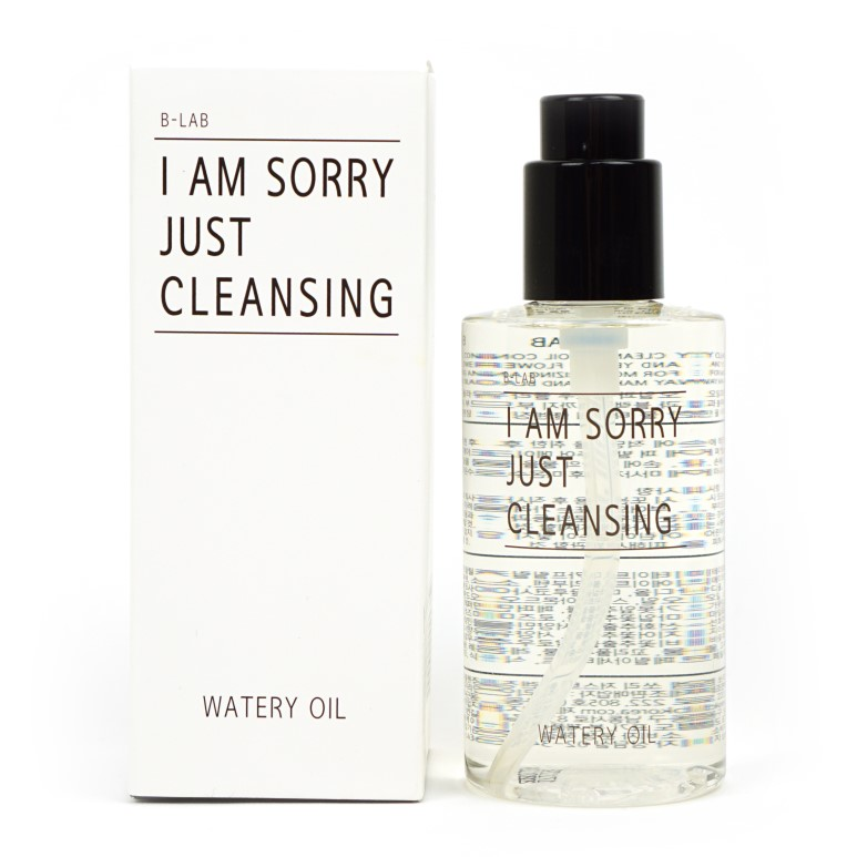 B-LAB I Am Sorry Just Cleansing Natural Cleansing Watery Oil review