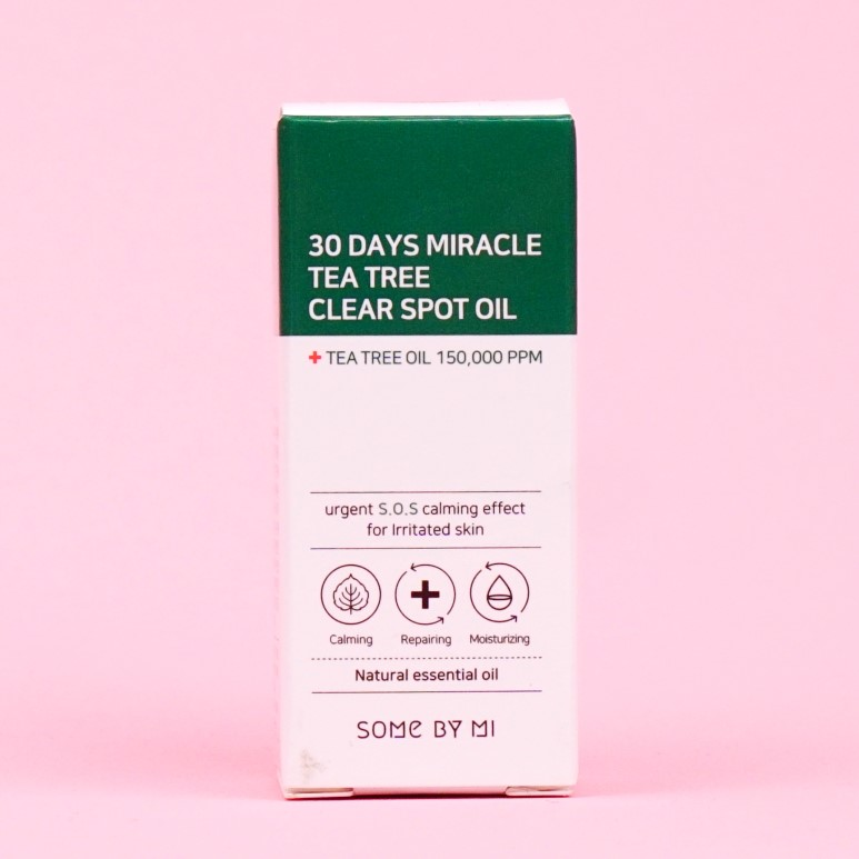 SOME BY MI 30 Days Miracle Tea Tree Clear Spot Oil review