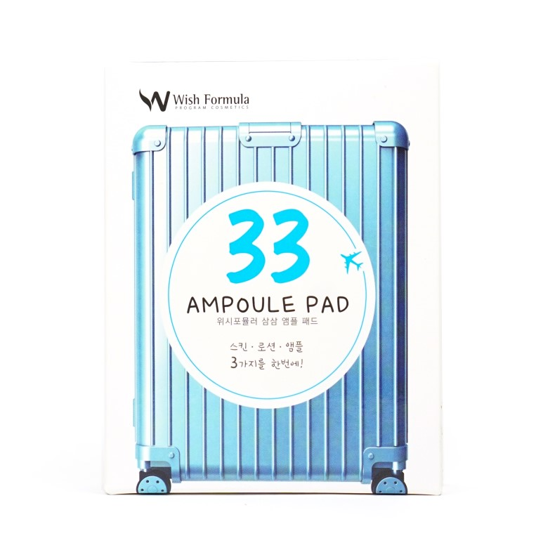 Wish Formula 33 Ampoule Pad review
