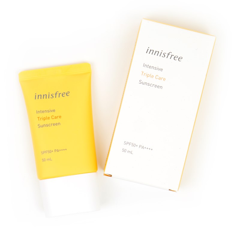 innisfree Intensive Triple Care Sunscreen review