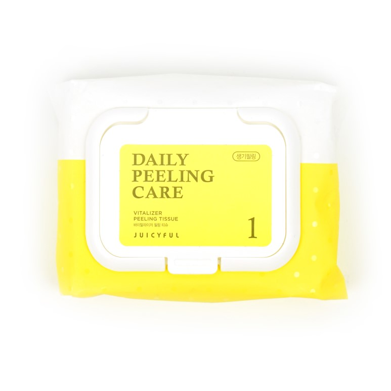 JUICYFUL Daily Peeling Tissue review