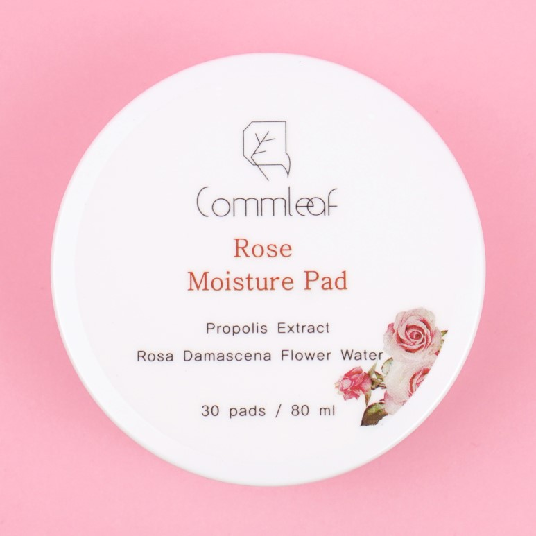 Commleaf Rose Moisture Pad review